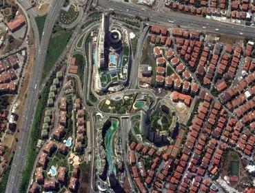 Foto aerea del complesso residenziale