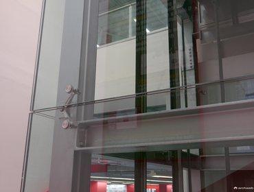 Ascensore pannelli vetro 07