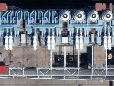 Pompidou aerial roof