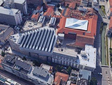 M9 Museo del Novecento aerial 2