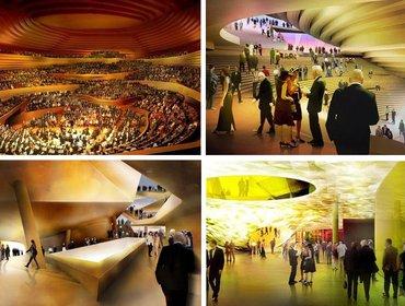 Elbphilharmonie interior render