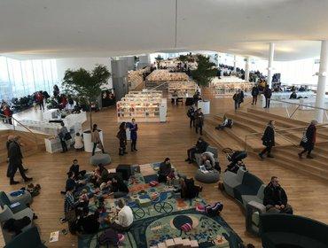 Helsinki Central Library interior_14