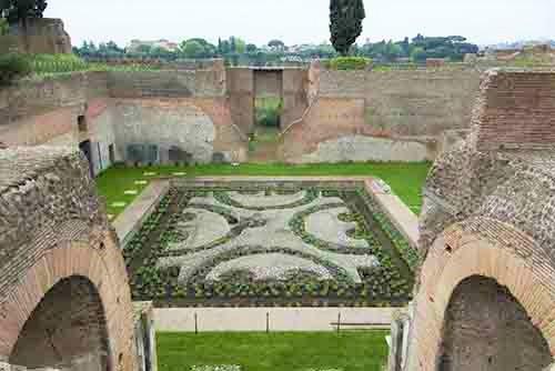 Roma, antichi giardini sul Palatino
