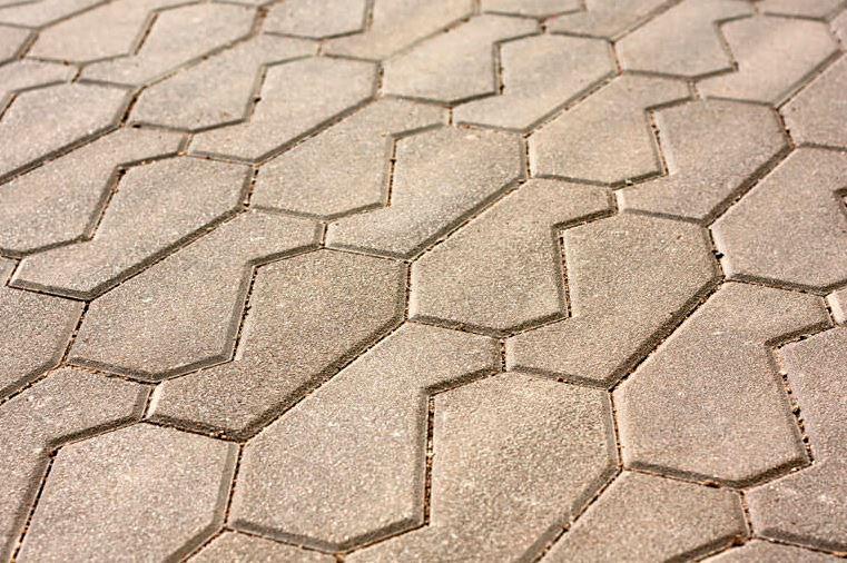 Pavimentazione in cls da materiale riciclato