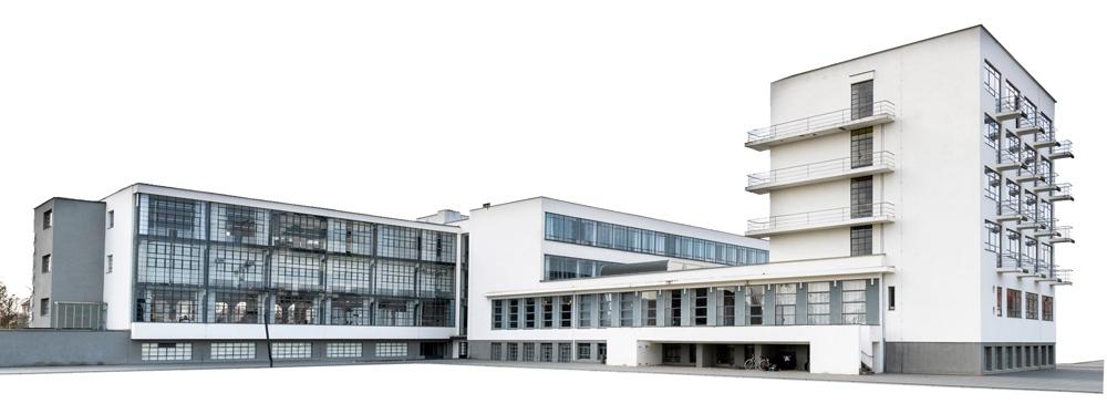 Il complesso architettonico del Bauhaus a Dessau