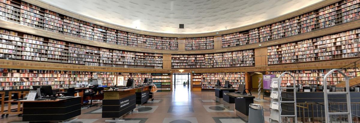 Stockholms stadsbibliotek architecture