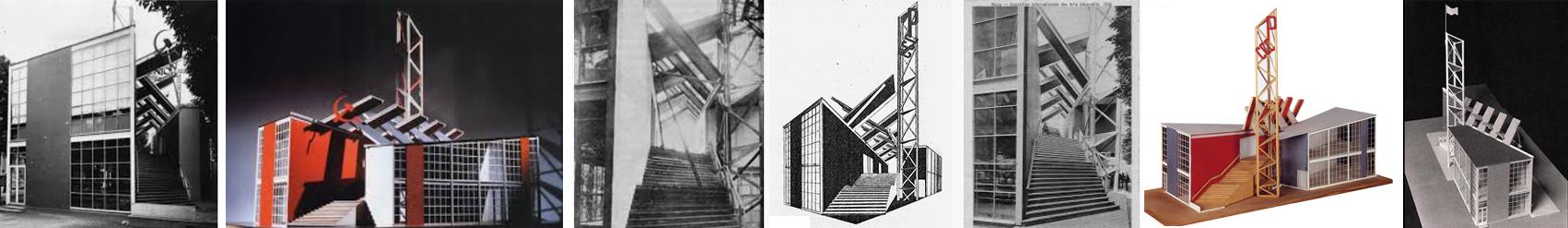 Melnikov - URSS Pavilion, Parigi, 1925
