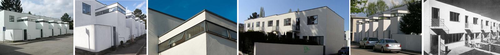Case a schiera al Weissenhofsiedlung